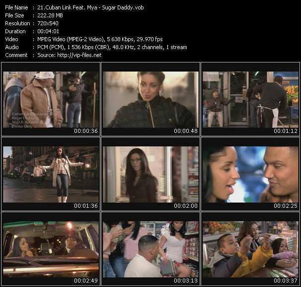 Cuban Link Feat. Mya - Sugar Daddy