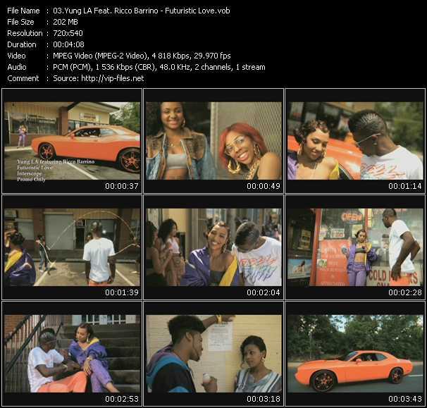 Yung LA Feat. Ricco Barrino - Futuristic Love