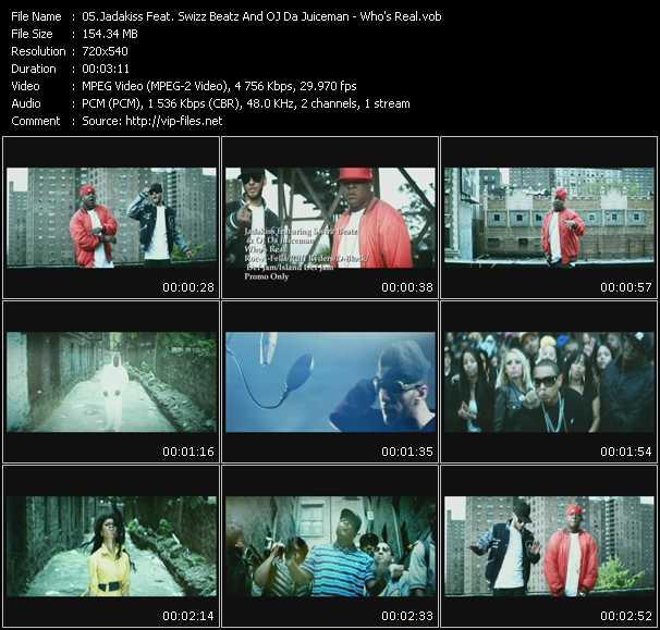 Jadakiss Feat. Swizz Beatz And Oj Da Juiceman - Who's Real