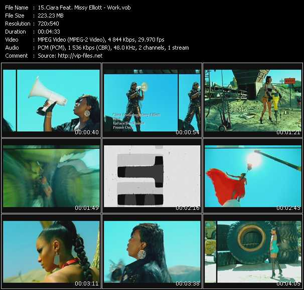 Ciara Feat. Missy Elliott - Work