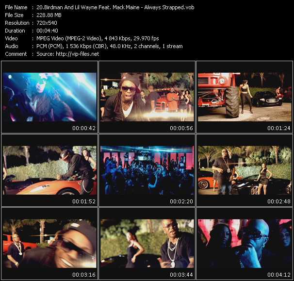 Birdman And Lil' Wayne Feat. Mack Maine - Always Strapped