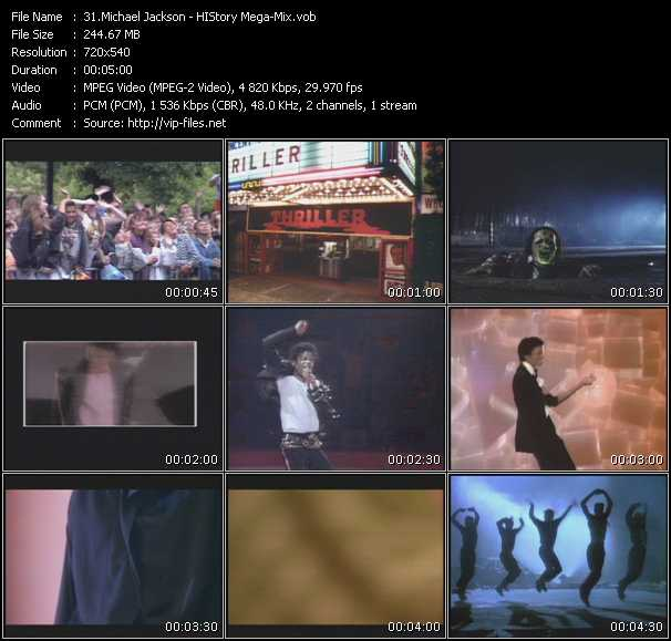 Michael Jackson - HIStory Mega-Mix