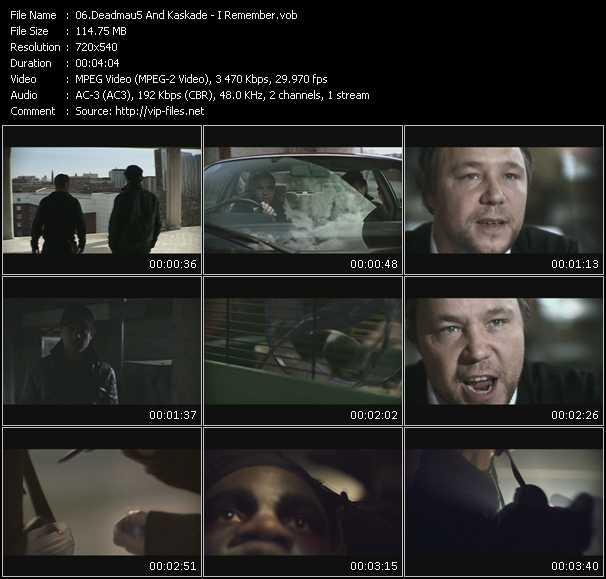 Deadmau5 And Kaskade - I Remember