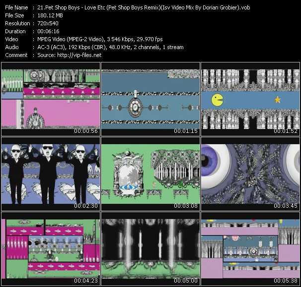 Pet Shop Boys - Love Etc (Pet Shop Boys Remix) (Isv Video Mix By Dorian Grobier)
