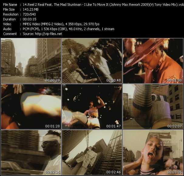 Reel 2 Real Feat. The Mad Stuntman - I Like To Move It (Johnny Max Rework 2009) (Vj Tony Video Mix)