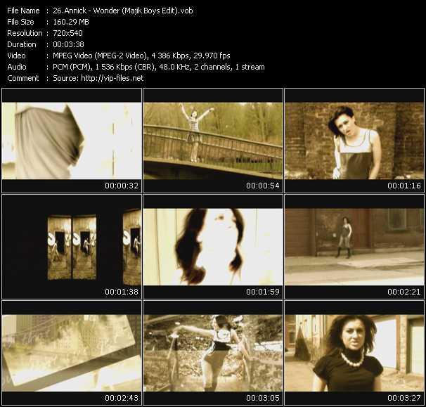 Annick - Wonder (Majik Boys Edit)