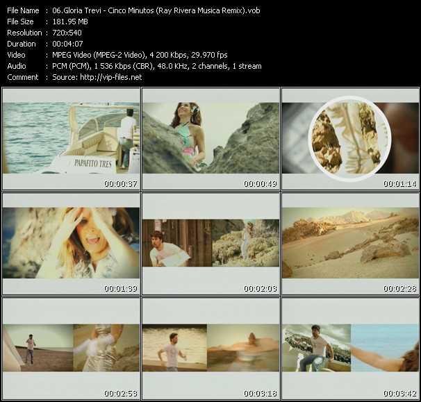 Gloria Trevi - Cinco Minutos (Ray Rivera Musica Remix)