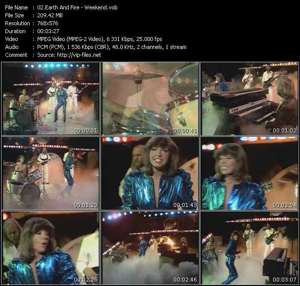Earth And Fire - Weekend (From Top Pop)
