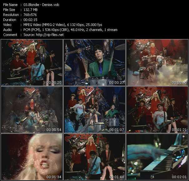 Blondie - Denise (From Top Pop)