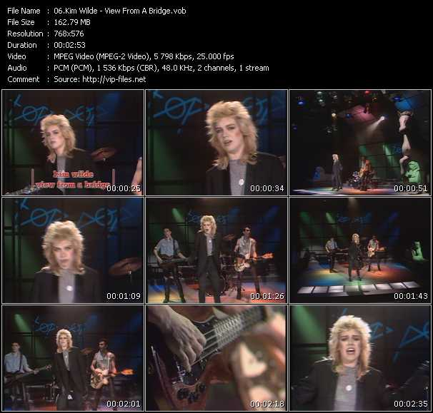 Kim Wilde - View From A Bridge (From Top Pop)