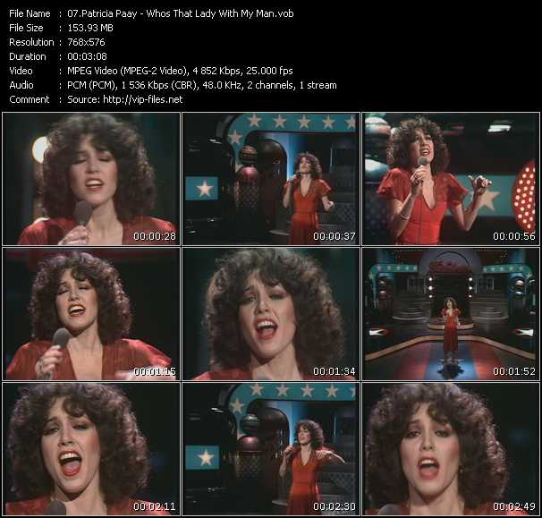 Patricia Paay - Who's That Lady With My Man (From Top Pop)