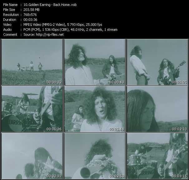 Golden Earring - Back Home (From Top Pop)
