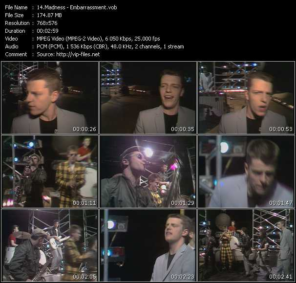 Madness - Embarrassment (From Top Pop)