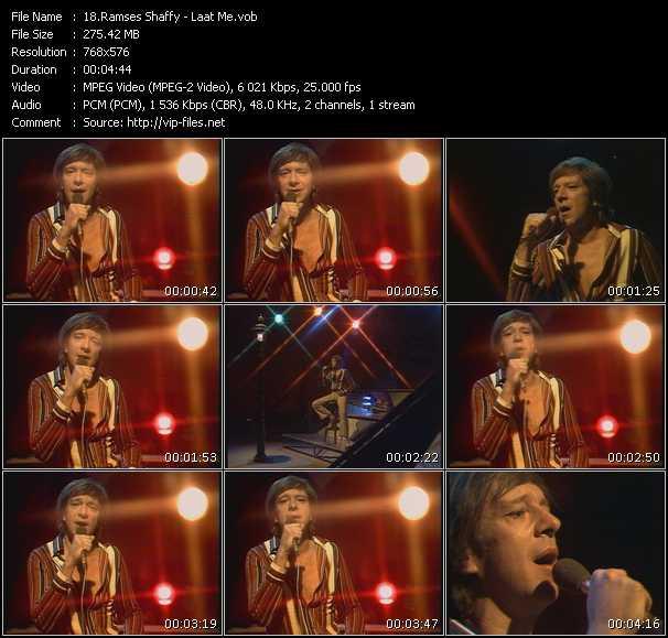 Ramses Shaffy - Laat Me (From Top Pop)