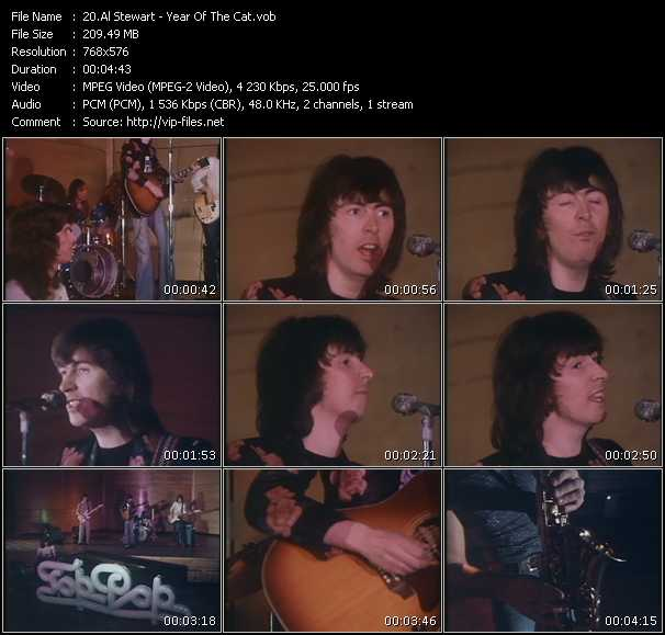 Al Stewart - Year Of The Cat (From Top Pop)