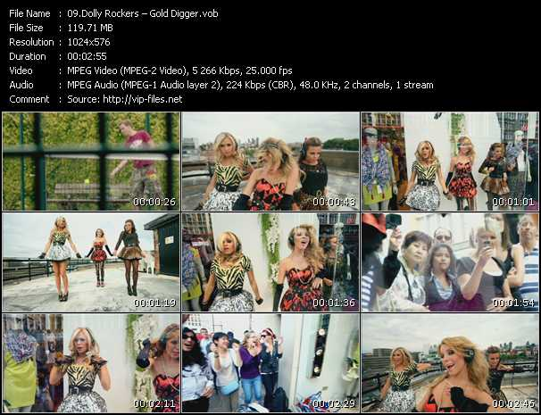 Dolly Rockers - Gold Digger