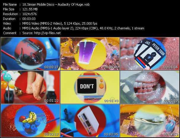 Simian Mobile Disco - Audacity Of Huge