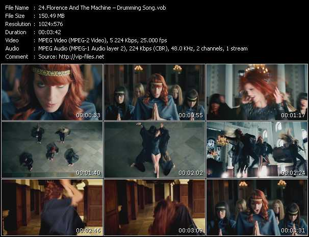 Florence And The Machine - Drumming Song