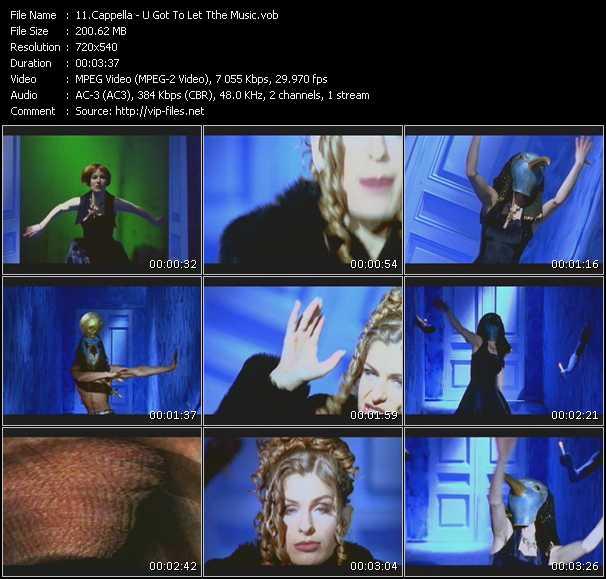 Cappella - U Got To Let Tthe Music