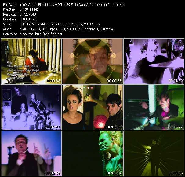 Orgy - Blue Monday (Club 69 Edit) (Dan-O-Rama Video Remix)