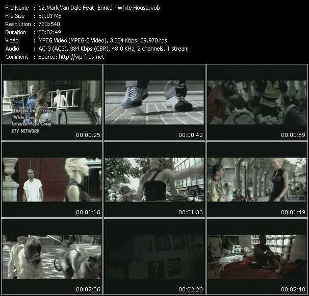 Mark Van Dale Feat. Enrico - White House