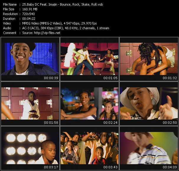 Baby DC Feat. Imajin - Bounce, Rock, Skate, Roll