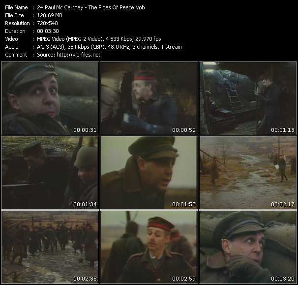 Paul McCartney - The Pipes Of Peace
