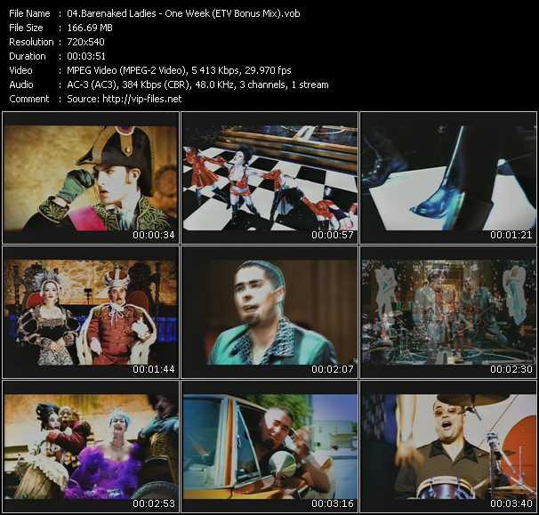 Barenaked Ladies - One Week (ETV Bonus Mix)