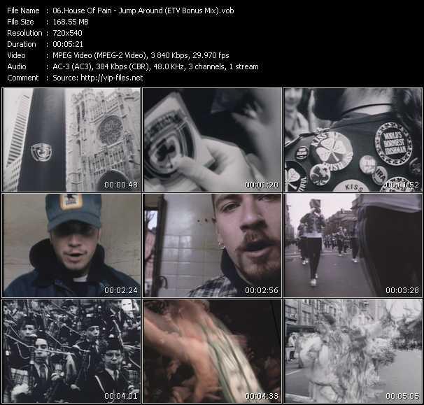 House Of Pain - Jump Around (ETV Bonus Mix)