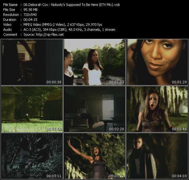 Deborah Cox - Nobody's Supposed To Be Here (ETV Bonus Mix)