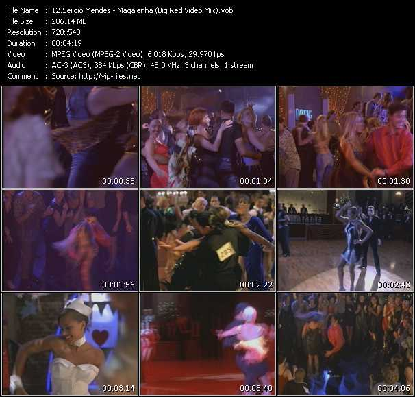 Sergio Mendes - Magalenha (Big Red Video Mix)
