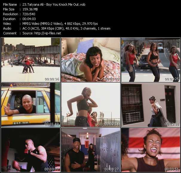 Tatyana Ali Feat. Will Smith - Boy You Knock Me Out