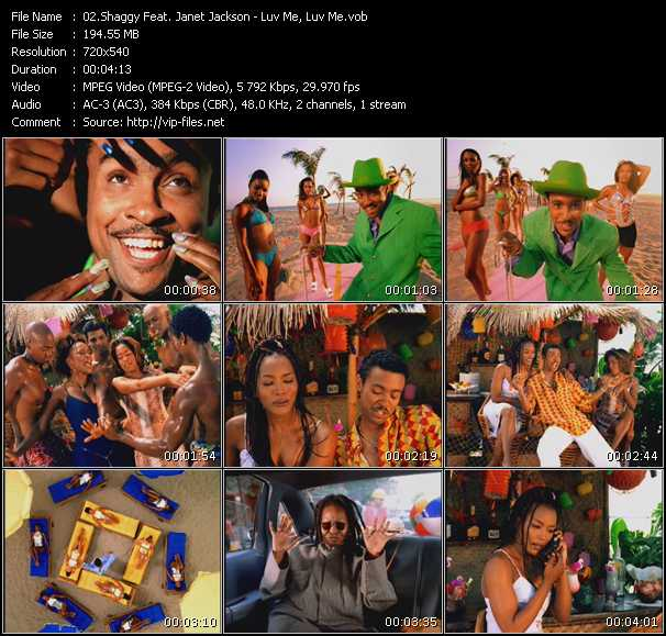 Shaggy Feat. Janet Jackson - Luv Me, Luv Me