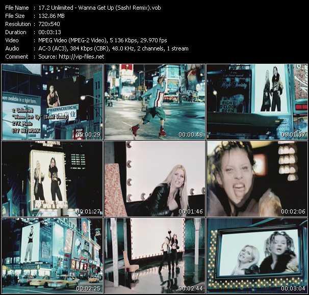 2 Unlimited - Wanna Get Up (Sash! Remix)