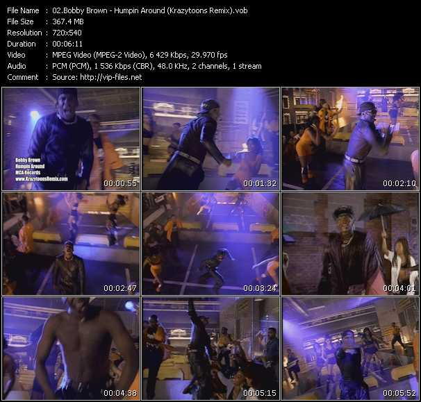 Bobby Brown - Humpin Around (Krazytoons Remix)