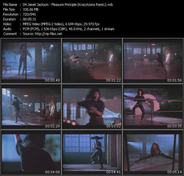 Janet Jackson - The Pleasure Principle (Krazytoons Remix)