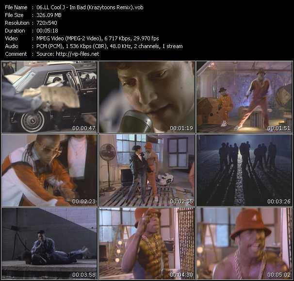LL Cool J - I'm Bad (Krazytoons Remix)