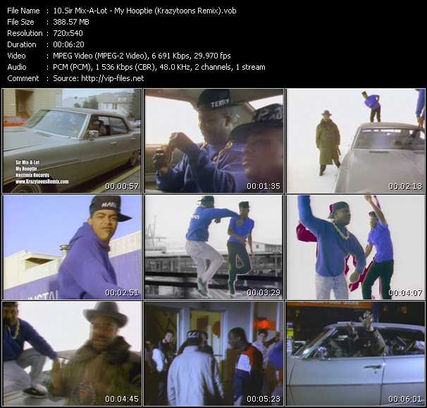 Sir Mix-A-Lot - My Hooptie (Krazytoons Remix)