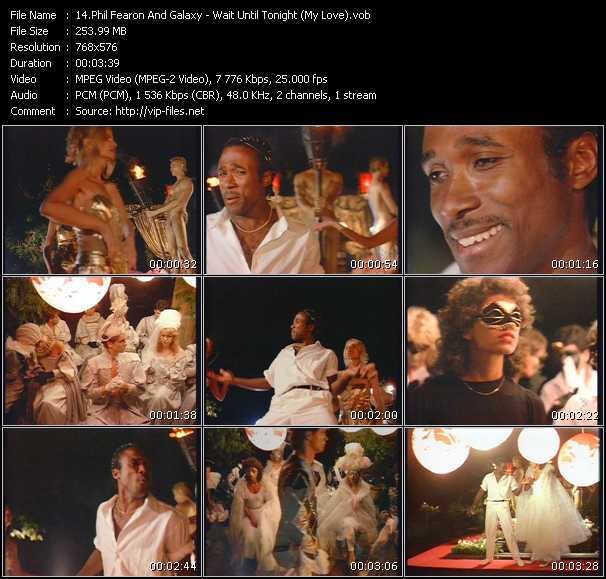 Phil Fearon And Galaxy - Wait Until Tonight (My Love)