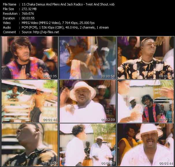 Chaka Demus And Pliers And Jack Radics - Twist And Shout