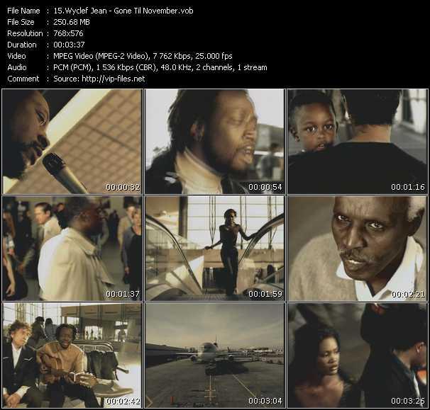 Wyclef Jean - Gone Til November