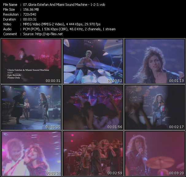 Gloria Estefan And Miami Sound Machine - 1-2-3