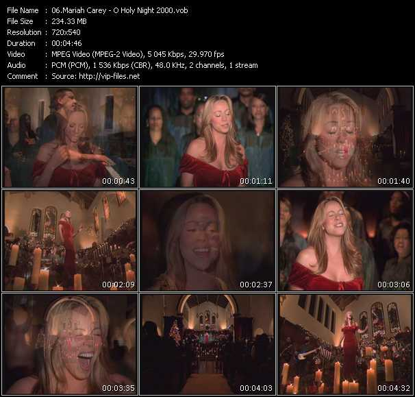 Mariah Carey - O Holy Night 2000
