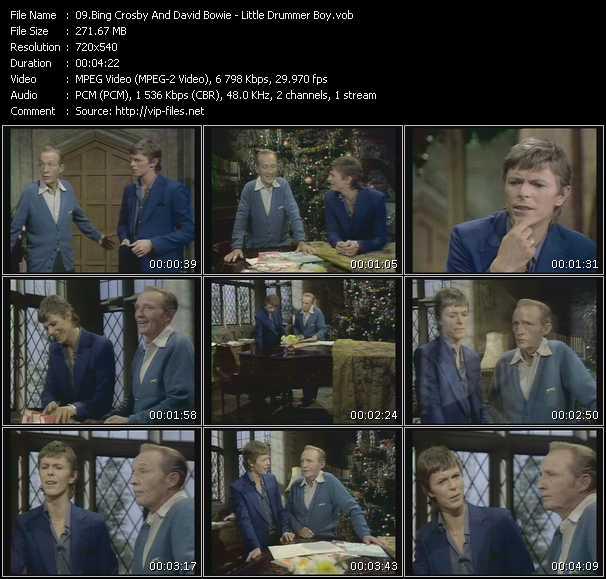 Bing Crosby And David Bowie - Little Drummer Boy