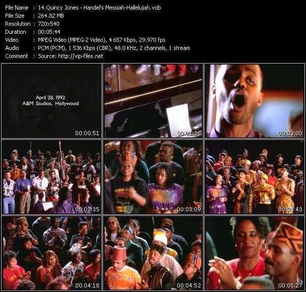 Quincy Jones - Handel's Messiah-Hallelujah