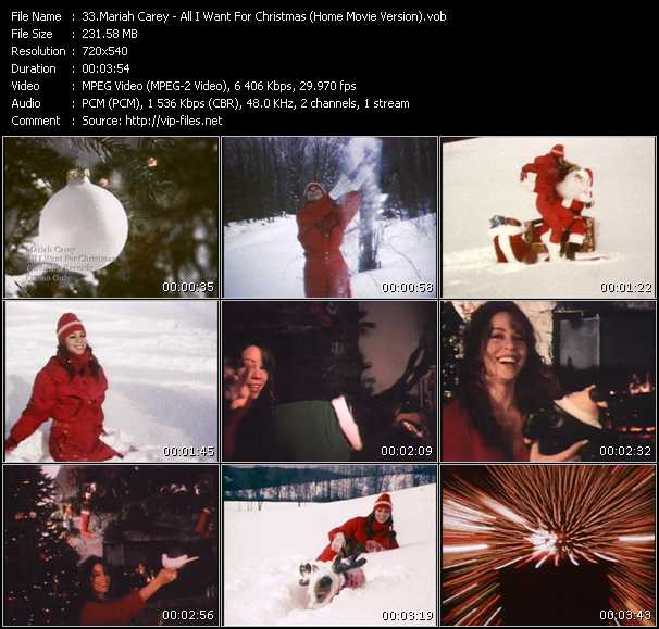 Mariah Carey - All I Want For Christmas Is You (Home Movie Version)