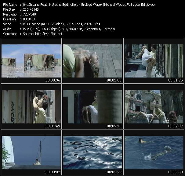 Chicane Feat. Natasha Bedingfield - Bruised Water (Michael Woods Full Vocal Edit)