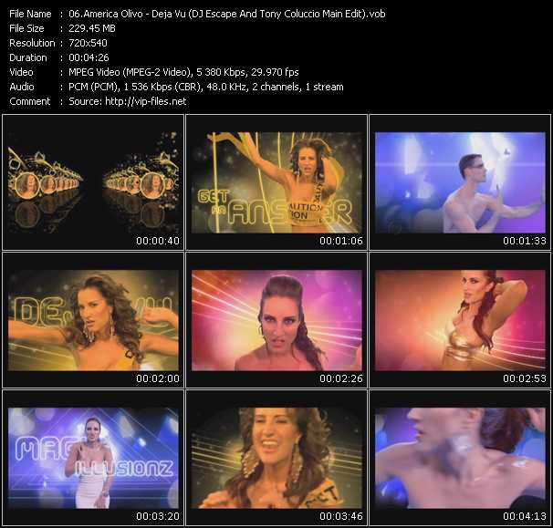 America Olivo - Deja Vu (DJ Escape And Tony Coluccio Main Edit)