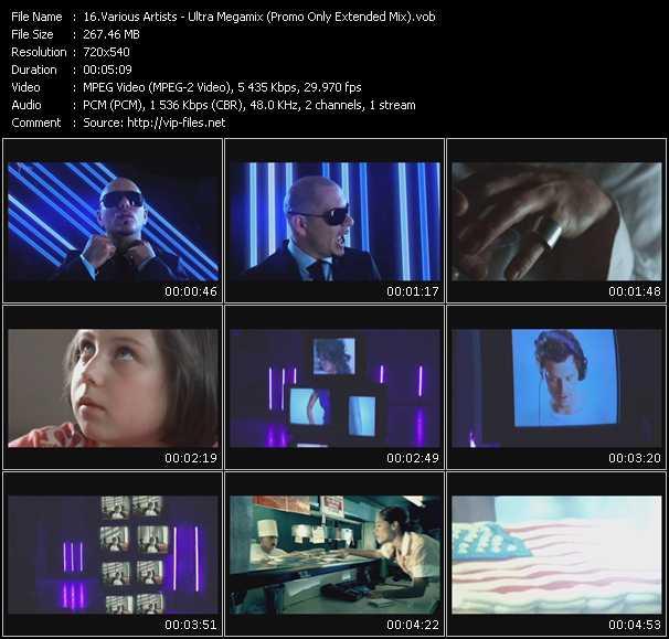 Various Artists - Ultra Megamix (PO Extended Mix)