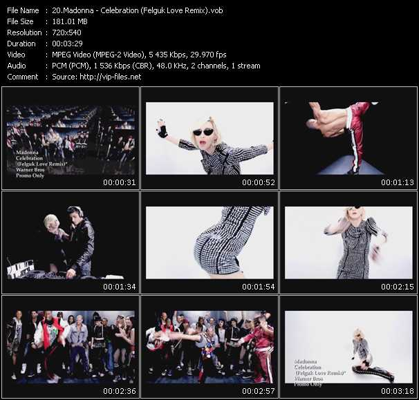 Madonna - Celebration (Felguk Love Remix)